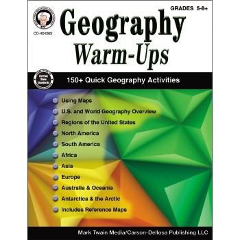 Carson-Dellosa Publishing Geography Mental Warm-Ups