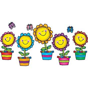 Carson-Dellosa Publishing Blooming Flowers Bulletin Board Set