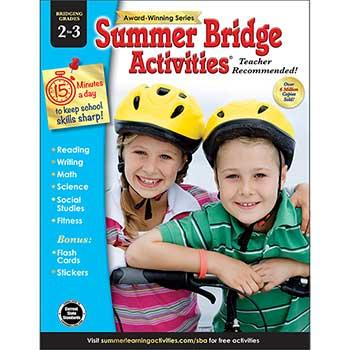 Carson-Dellosa Publishing Summer Bridge Activities®: Bridging Grades 2–3