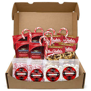 Snack Box Pros Warm Winter Wishes Hot Chocolate Kit
