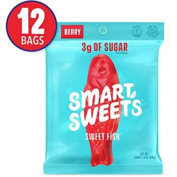 SmartSweets™ Sweetfish, Berry, 1.8 oz., 12/PK