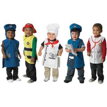 The Children's Factory Community Helpers Costume Set
