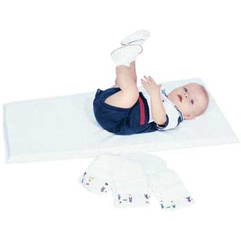 """The Children's Factory Infection Control Changing Pad, 35""""w x 16""""l, White"""