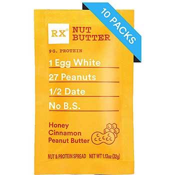 RX Bar® Honey Cinnamon Peanut Butter, 1.13 oz., 10/Box