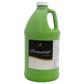 Chroma Chromacryl® Students' Acrylic Paint, 1/2 gallon