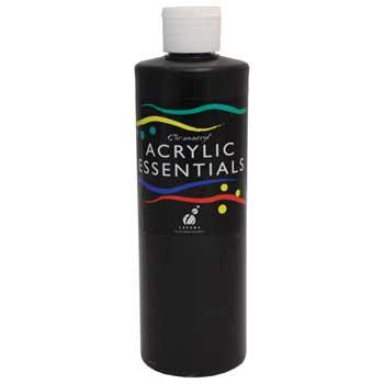 Chroma Chromacryl® Acrylic Essentials Paint, Pint, Black