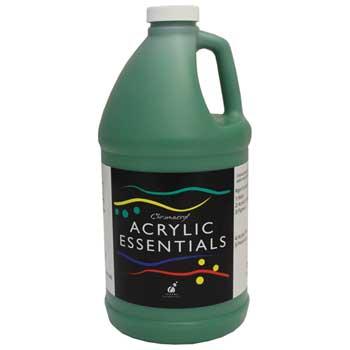 Chroma Chromacryl® Acrylic Essentials Paint, 1/2 Gallon, Green