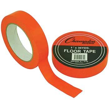 Champion Sports Floor Tape, Orange