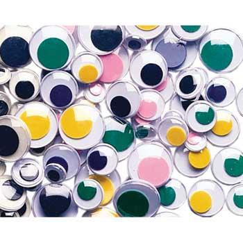 Creativity Street® Wiggle Eyes Classroom Packs, Multi-Color, 500/PK