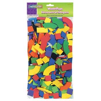 Creativity Street® WonderFoam® Geometric Shapes, 540/PK