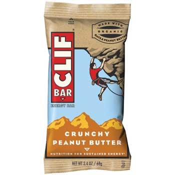 CLIF® Bar Crunchy Peanut Butter, 2.4 oz., 12/BX