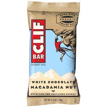 CLIF® Bar White Chocolate Macadamia, 2.4 oz., 12/BX