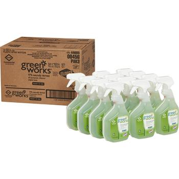 Green Works® All Purpose Cleaner Spray, 32 oz, 12/CT