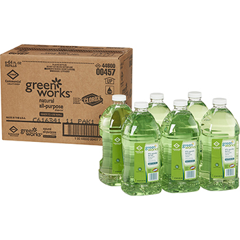 Green Works® All Purpose Cleaner Refill, 64 Ounces, 6 Bottles/CT