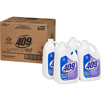 Formula 409® Glass & Surface Cleaner Refill, 128 Ounces Each, 4/CT