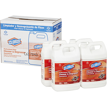 Professional Floor Cleaner & Degreaser Concentrate Refill, 128 Ounces, 4/CT