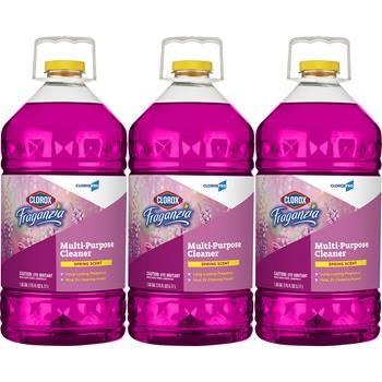 Clorox® Fraganzia® Multi-Purpose Cleaner, Spring Scent, 175 oz Each, 3/CT
