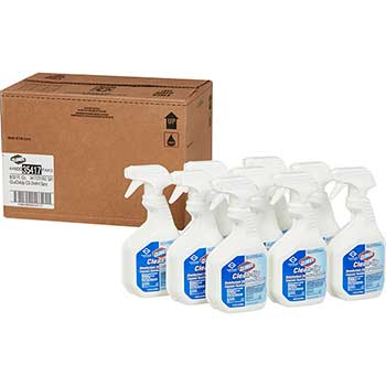 Clean-Up All Purpose Cleaner with Bleach, Original, 32 Ounce Spray Bottle, 9 Bottles/Carton