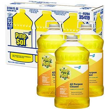 Multi-Surface Cleaner, 144 oz. Bottle, Lemon Fresh Scent, 3/CT
