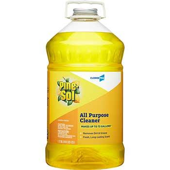 Multi-Surface Cleaner, 144 oz. Bottle, Lemon Fresh Scent