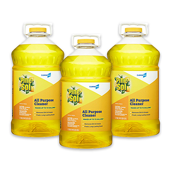 Multi-Surface Cleaner, 144 oz. Bottle, Lemon Fresh Scent, 3/CT