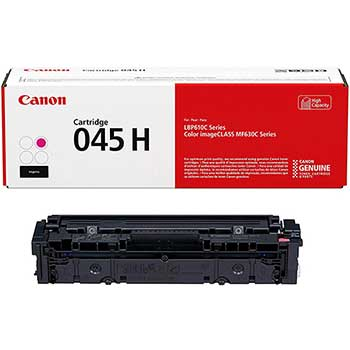 Canon® 1244C001 (045) High-Yield Toner, 2200 Page-Yield, Magenta