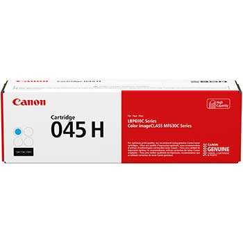 1245C001 (045) High-Yield Toner, 2200 Page-Yield, Cyan