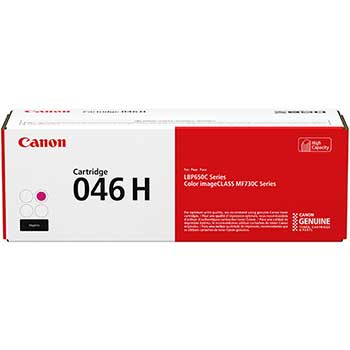 Canon® 1252C001 (046) High-Yield Toner, 5000 Page-Yield, Magenta