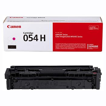 Canon® 054H Toner Cartridge - Magenta - Laser - High Yield