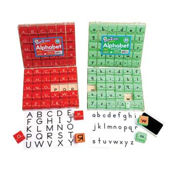 "Center Enterprises Ready2Learn™ Manuscript Alphabet Stamps, 1"", Uppercase"