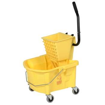 Splash Guard™ Side-Press Combo Pack, 26 qt., Yellow