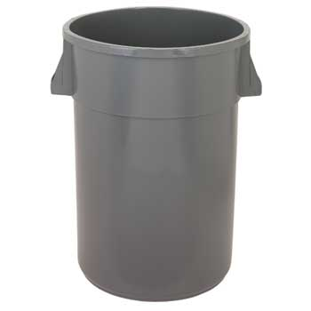 Huskee™ Receptacle, Round, 44 Gallon, 4/CT