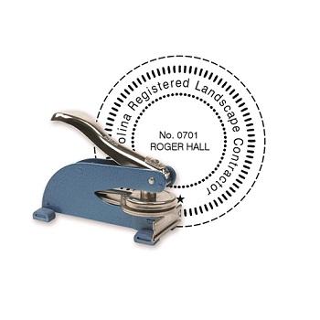 """2000 Plus® HD Custom Official KO Desk Notary Seal Embosser 2"""""""