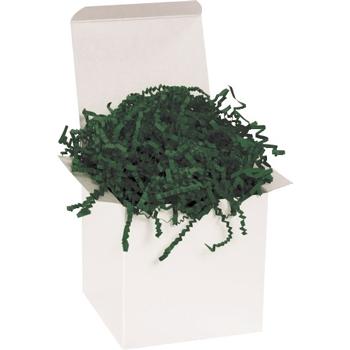 W.B. Mason Co. Crinkle Paper, 10 lb., Forest Green, 1/CS