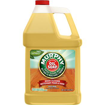 Oil Soap Wood & Laminate Floor Cleaner Concentrate, Fresh Scent, 1 gal. Bottle