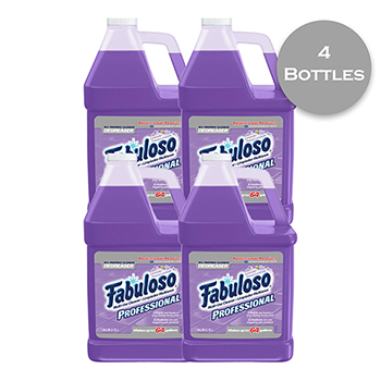 Fabuloso® All-Purpose Cleaner, Lavender Scent, 1 gal. Bottle, 4/CT