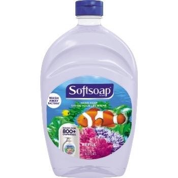 Liquid Hand Soap Refills, Fresh, 50 oz.