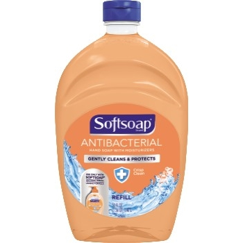 Antibacterial Liquid Hand Soap Refills, Crisp Clean, 50 oz.