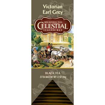 Celestial Seasonings® Victorian Earl Grey Tea Bags, 25/BX