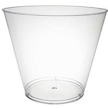 Crystalware Plastic PP Cups, 5 oz., Translucent, 2,500/Carton