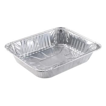 Crystalware Aluminum Pan, Half-Size, Steam Table, Deep, 100/CS