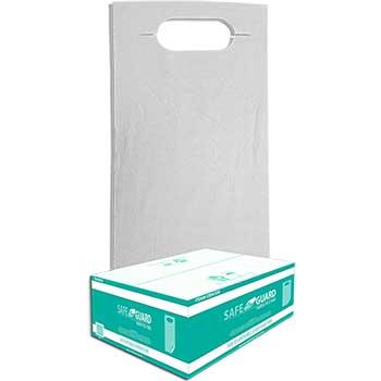Safe Guard Disposable Overhead Bib,  Paper/Poly, White Design, 300/CT