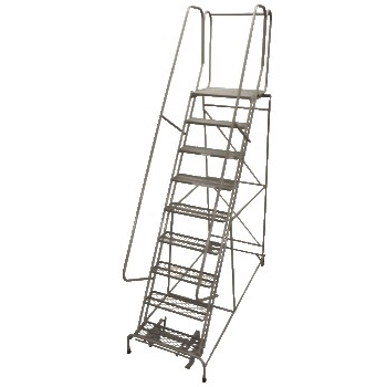 Rolling Metal Ladder