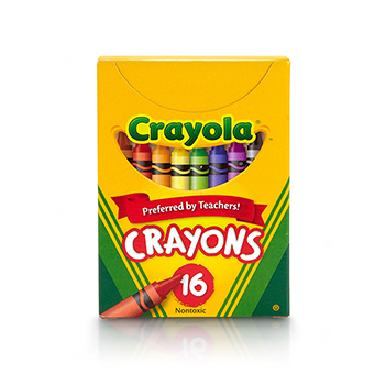 Crayons, Tuck Box, 16/BX