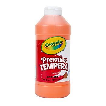 Crayola® Premier Tempera Paint, 16 oz. Bottle, Orange