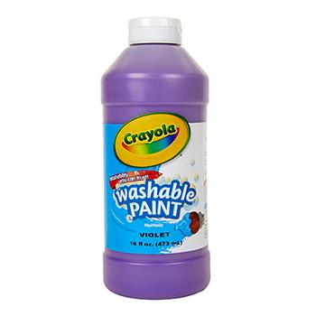 Crayola® Washable Paint, 16 oz. Bottle, Violet