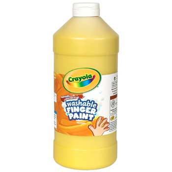 Crayola® Washable Finger Paint, 32 oz. Bottle, Yellow