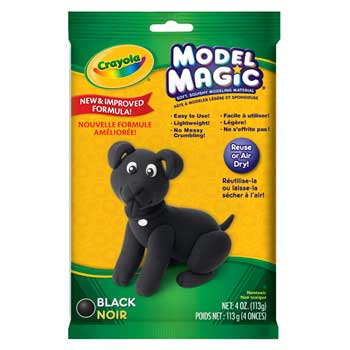 Model Magic, 4 oz. Pouch, Black