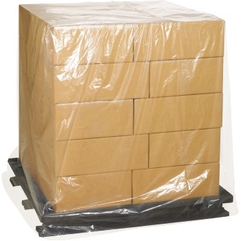 "Pallet Covers, 2 Mil, 52"" x 48"" x 96"", Clear, 45/RL"