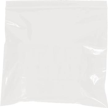 "W.B. Mason Co. Reclosable 2 Mil Poly Bags, 9"" x 12"", White, 1000/CS"